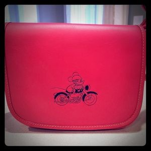 NWT Mickey Mouse Coach Handbag